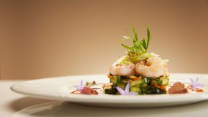 zucchini and prawn