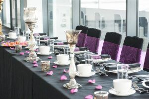 AJ Bell Stadium Wedding Table Top Table