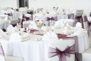 AJ Bell Stadium Wedding Tables 1