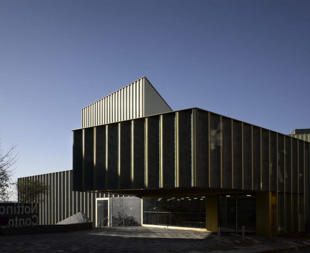 Nottingham Contemporary, Lace Market, Nottingham, England. Architect: Caruso St John Architects