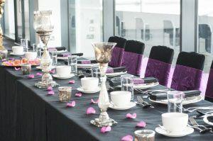 AJ Bell Stadium Wedding Table Top Table