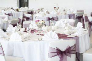 AJ Bell Stadium Wedding Tables 1